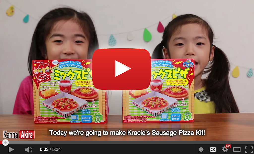 Kracie Pizza Kit