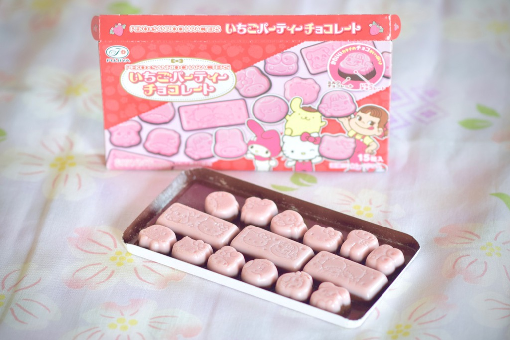 Peko x Sanrio Strawberry Chocolate Party