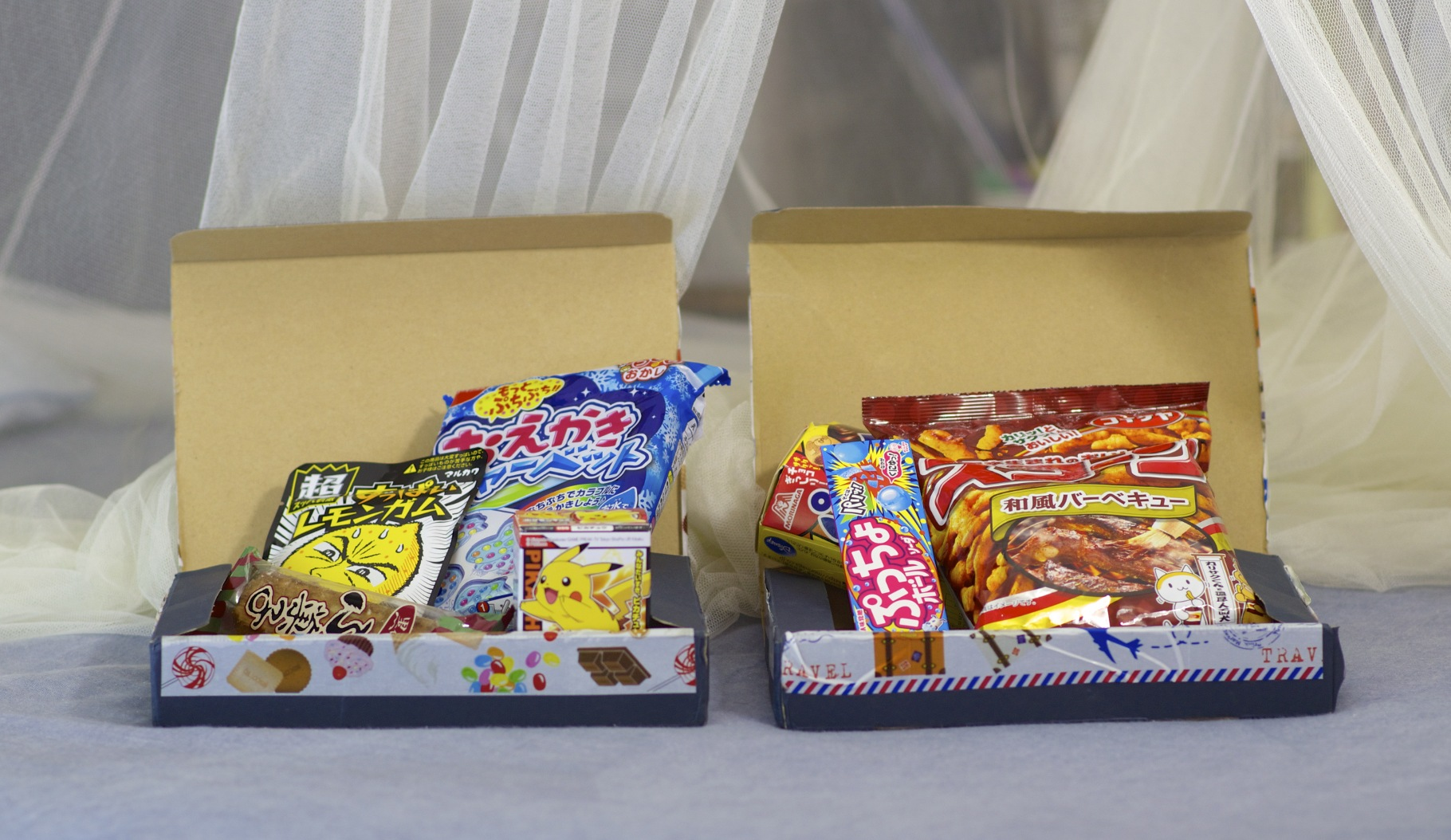 Candy Japan boxes