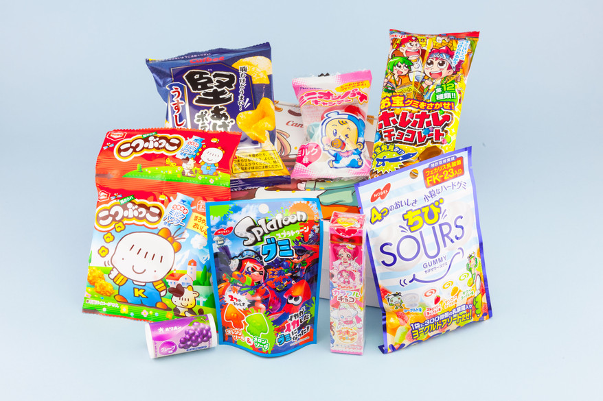 Candy Japan October 2017 boxes