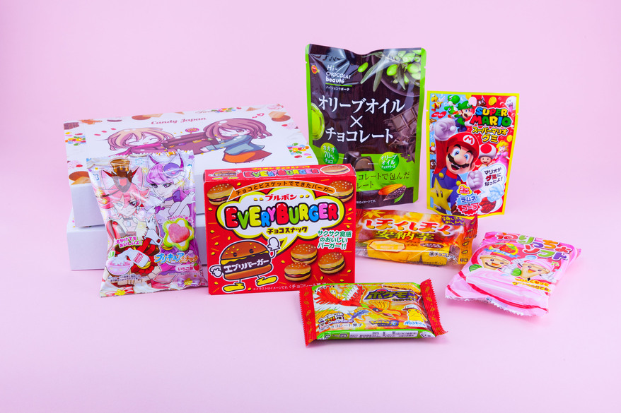 Candy Japan September 2017 boxes