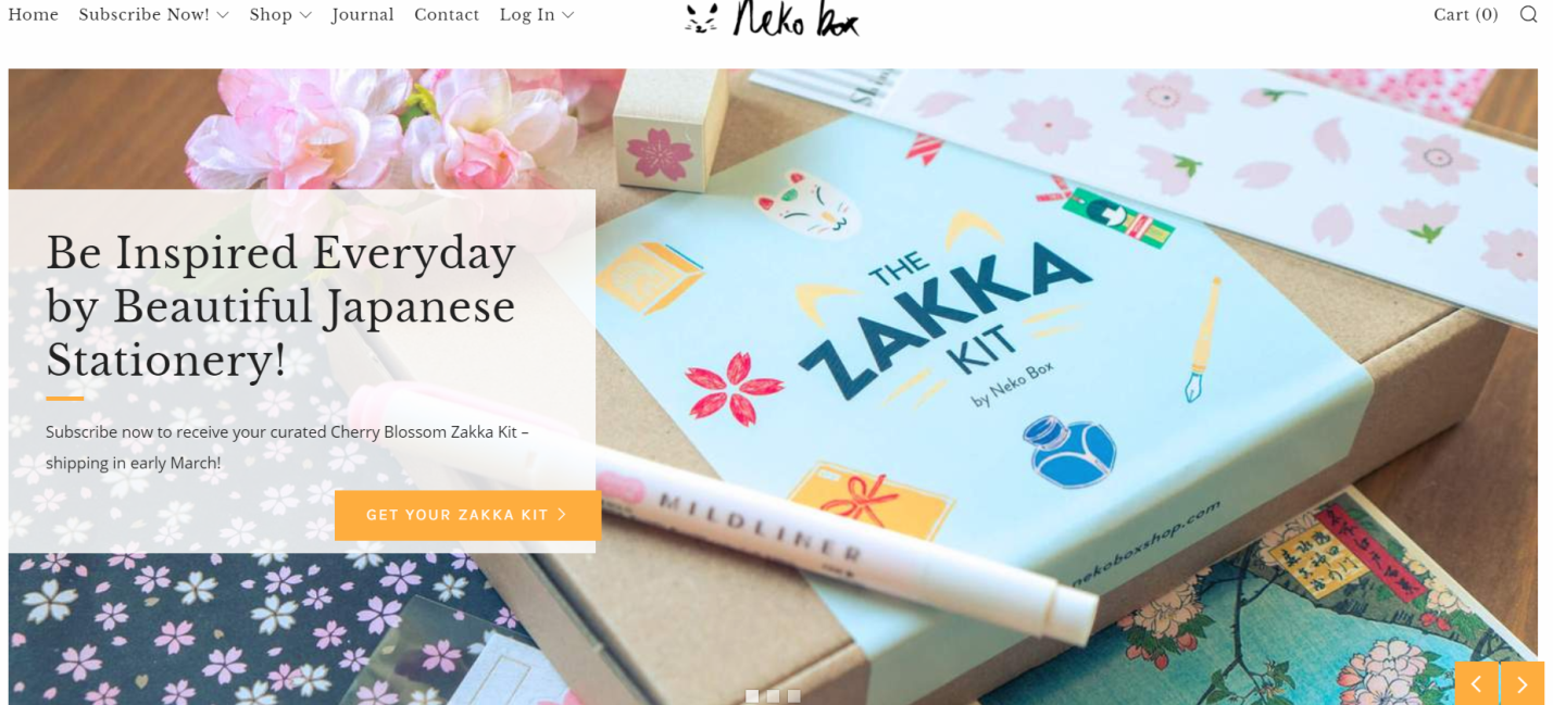 Neko Box / Zakka Kit